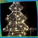 Luz ao ar livre do diodo emissor de luz da corda feericamente da decoração do Natal do feriado