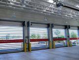 Portes en aluminium extérieures de porte de vitesse de garantie verticale à grande vitesse de PVC (Hz-RSD032)