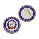 L'alta qualità ha personalizzato la vibrazione Francia della cassa delle capsule della moneta della costruzione dello smalto