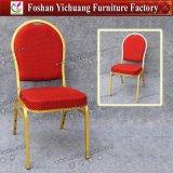 의자 도매 Yc-Zl13-11를 식사하는 최신 판매 빨간 직물