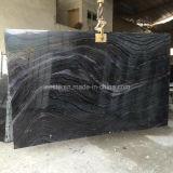 Мрамор зебры черный, мраморный слябы плитки и мраморный