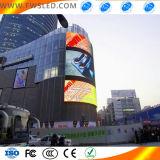 LED-Bildschirm-im Freienbekanntmachen LED-Bildschirm mit kreativem Entwurf
