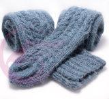 Lado tricô OEM Hat Beanie Headwear almofada com manta de SOCKS