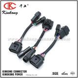 Kinkong a personnalisé le harnais de câblage automobile d'adaptateur d'allumeur
