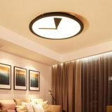 24W 32W 38W 거실/침실을%s 둥근 유일한 현대 넘치는 마운트 전등 설비 LED 천장 램프 빛