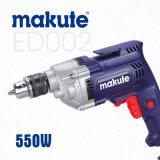 Ferramenta de Potência Profissional Makute 10mm 550W furadeira elétrica (ED002)