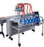 Máquina de etiquetado de relleno carbónica linear automática de la máquina que capsula que se lava
