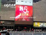Producto verde en la pared exterior pantalla LED digital vallas de publicidad (P10)