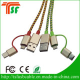 3 en 1 cable de datos USB