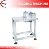 Guardar la recogida de la máquina la máquina para la bolsa de papel y papel