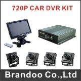タクシー720p Ahd 4G車DVRキット4channelの手段Mdvr