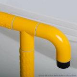 Mur pour parqueter l'accoudoir en nylon de douche de barres d'aide d'handicap de salle de bains