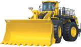 Cargador de la rueda con el alimentador del mecanismo impulsor de 4 ruedas que pesa el sistema