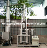 Olio per motori completamente automatico dello spreco del nero/olio dell'automobile/pianta di rinnovamento di distillazione olio di motore (EOS)