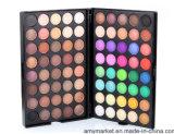 Sombra de ojo ahumada del maquillaje de 80 del color de la tierra del tono ojos del lustre del color de la gama de colores mate nacarada de la cara