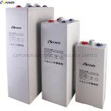 2V600AH Opzv tubular para la alimentación de batería solar Telecom