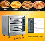 Палуба профессионального оборудования хлебопекарни роскошная электрическая с подносом 6