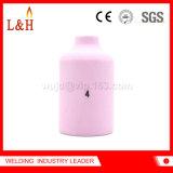 54n18 Alumina van de Lens van het gas Ceramische Pijp voor TIG de Toorts van het Lassen