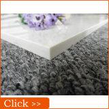 600*600mmの極度の白い磨かれた磁器の床タイル