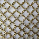Het met de hand gemaakte Netwerk van de Ring van het Metaal van het Roestvrij staal