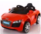 Audi badine le véhicule électrique de jouet en plastique