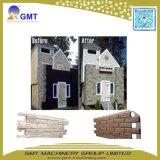 Línea decorativa de la protuberancia del modelo del ladrillo del panel de apartadero de la piedra del Faux del PVC