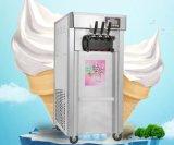 Aroma-weiche Eiscreme-Maschine Werbungs-freie stehende Digital-drei