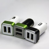 De kleurrijke Lader van de Auto met Dubbele Haven USB voor iPhone/Samung