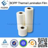 Pellicola di laminazione calda di lucentezza di BOPP di lucentezza della pellicola termica stampabile BOPP della laminazione