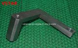 CNC da elevada precisão que faz à máquina a peça do aço inoxidável com Chromating