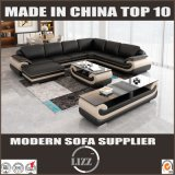 Meubles L sofa de coin de forme réglé avec les bras (LZ1488-1)