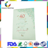 Поздравительая открытка ко дню рождения горячего сбывания штейновая бумажная прелестная с Heart-Shaped украшением