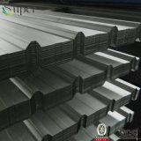 Hojas de acero galvanizadas material para techos acanalado