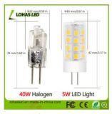 Luz de bulbo del maíz de Lohas LED 2835 3014 SMD G4 G9 E14 1W - mini LED bulbo del maíz de 7W