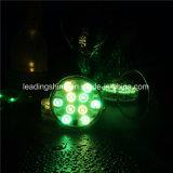 Decoración ligera sumergible LED del florero del AAA de la luz multicolora accionada por control remoto con pilas de la cachimba