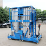 plataforma hidráulica de alumínio do elevador do trabalho 14meters aéreo (GTWY14-400SB)