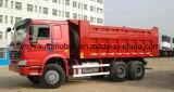 4X2 10 rotelle Sinotruk 22 tonnellate di autocarro con cassone ribaltabile resistente