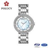 Custom de su propia marca de lujo señoras movimiento Ronda Elegante reloj de diamantes