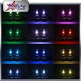 Super heller H4 LED Scheinwerfer H13 9005 des Selbstauto-Beleuchtung PFEILER Chip-Scheinwerfer Bluetooth Steuerung 9006 H1 H7 5202 RGB Dämon-Augen-LED für Nebel-Lampe Toyota-Honda