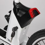 Foldableグリーン電力250Wの軽量の小型電気バイク