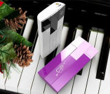 8000mAh rechargeable portable forme de piano mobile Banque d'alimentation