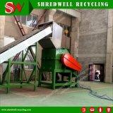 Planta de reciclaje de chatarra automático para el tambor de metal/acero Marco/latas de aluminio