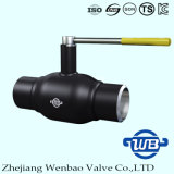 Zhejiang 가스를 위한 손잡이를 가진 완전히 용접된 A106 공 벨브