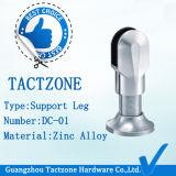 A fábrica zinca diretamente os pés da sustentação dos encaixes de Partitio do compartimento do toalete da liga