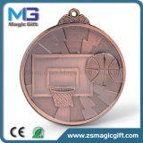 Medaglia in bianco promozionale di prezzi poco costosi con bronzo antico rifinito