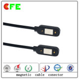 Conetor cobrando magnético Wearable com USB