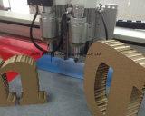 Placa de favo de Papelão Ondulado 15mm máquina de corte oscilantes Amostra Plotter de corte da faca