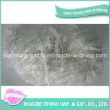 Gancho de croché respirável lã de tecelagem de fios de fantasia de algodão
