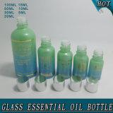 5ml, 10ml 15ml 20ml 30ml 50ml, 100ml botella de aceite esencial de vidrio verde Precio