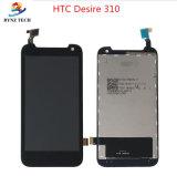 Affissione a cristalli liquidi dello schermo di tocco del telefono mobile per desiderio 210 di HTC 300 310 Assemblea di vetro del convertitore analogico/digitale delle 326 visualizzazioni